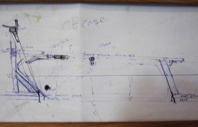 Centreboard sketch