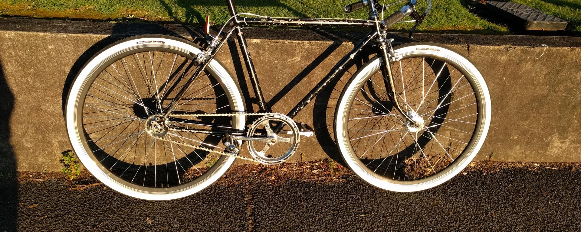 Custom Rat-Bike for Maloney's Barbershop (stage 1) – Joscat